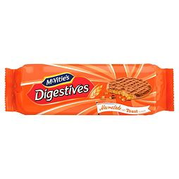 McVitie's Milk Chocolate Digestives Marmalade on Toast Flavour 250 g