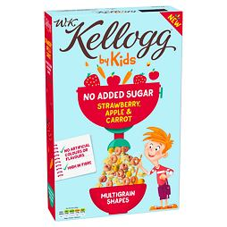 Kellogg's by Kids No Added Sugar Strawberry, Apple & Carrot 350 g