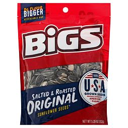 BIGS Sunflower Seeds Salted & Roasted Original 152 g