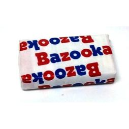 Bazooka Throwback Original Bubble Gum 1 ks 6 g