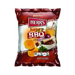 Herr's Honey BBQ Potato Chips 99.2 g