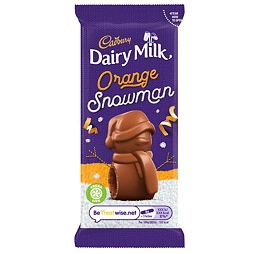 Cadbury Dairy Milk Orange Snowman 30 g