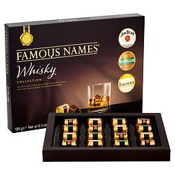 Famous Names Whisky Collection 185 g