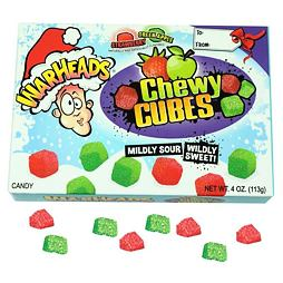 Warheads Sour Chewy Cubes Christmas 113 g