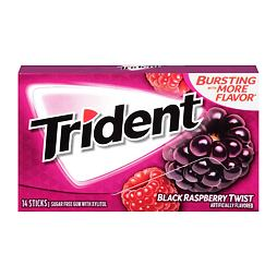 Trident Black Raspberry Twist 14 ks 27 g