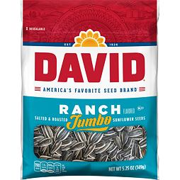 David Jumbo Sunflower Seeds Ranch 149 g