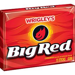 Big Red Cinnamon Gum 15 ks 41 g