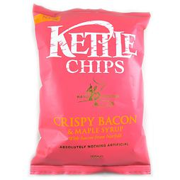 Kettle Crispy Bacon & Maple Syrup 150 g