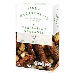 Linda McCartney's 6 Vegetarian Sausages 300 g