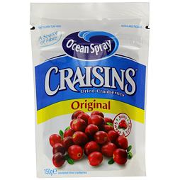 Ocean Spray Dried Craisins Cranberry 150 g