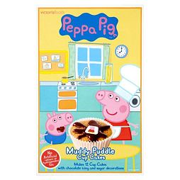 Peppa Pig Muddy Puddle Cupcake Mix 195 g
