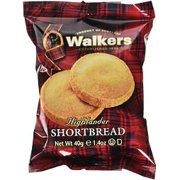 Walkers Highlander Shortbread 40 g