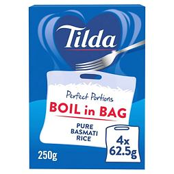 Tilda Boil in Bag Pure Basmati Rice 250 g