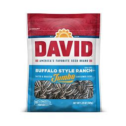 David Jumbo Sunflower Seeds Buffalo Style Ranch 149 g
