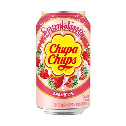 Chupa Chups Sparkling Strawberry Soda 345 ml
