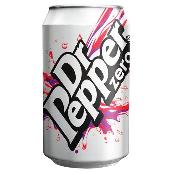 Dr Pepper Zero 330 ml