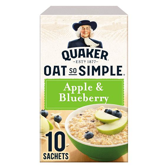 Quaker Oat So Simple Apple & Blueberry 10 ks 360 g
