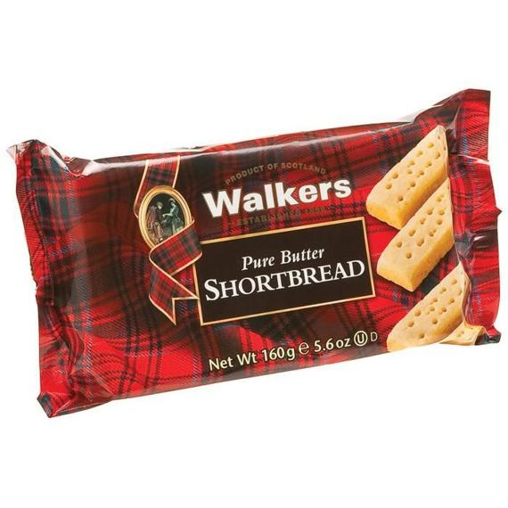 Walkers Pure Butter Shortbread 160 g