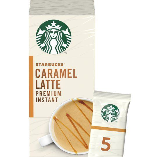 Starbucks Caramel Latte Premium Instant Caramelly & Smooth 5x21.5 g