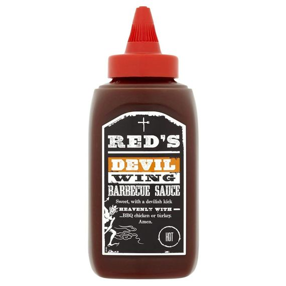 Red's Devil Wing Hot Barbecue Sauce 320 g