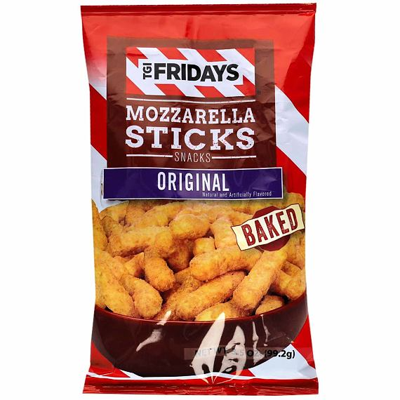 TGI Fridays Mozzarella Sticks Original 99.2 g