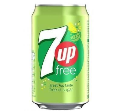 7UP Free Lemon & Lime 330 ml