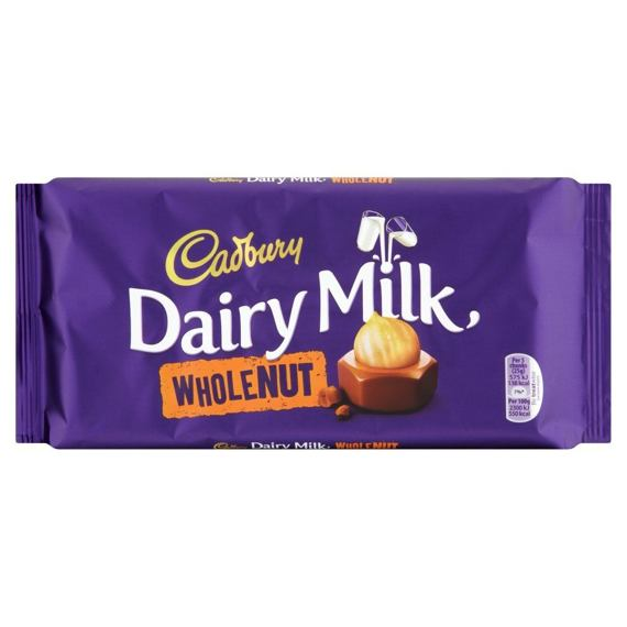 Cadbury Dairy Milk Wholenut 200 g