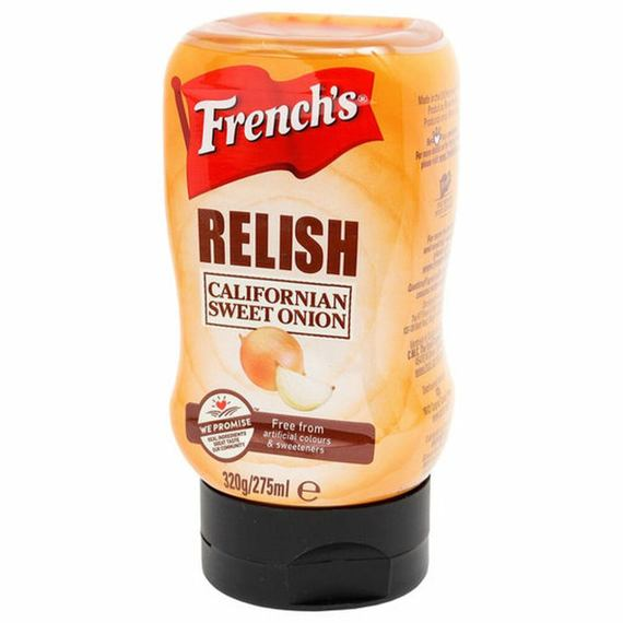 French's Relish Californian Sweet Onion 275 ml