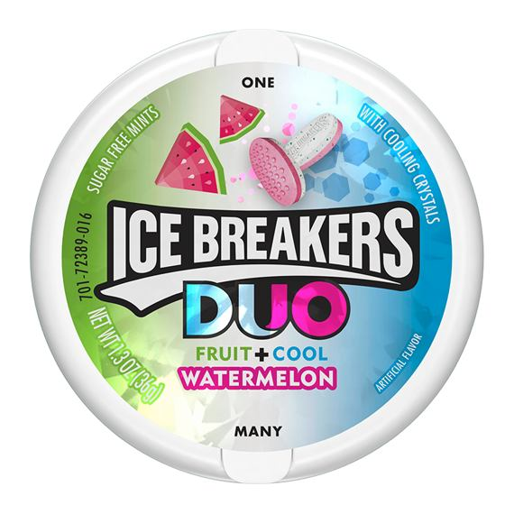 Ice Breakers Duo Fruit + Cool Watermelon 36 g