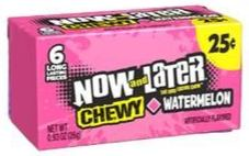 Now & Later Chewy Watermelon 26 g