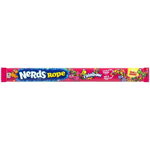 Nerds Rope Rainbow 26 g