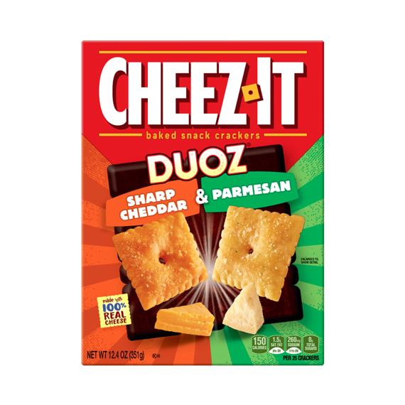 Cheez-It Duoz Sharp Cheddar & Parmesan 351 g