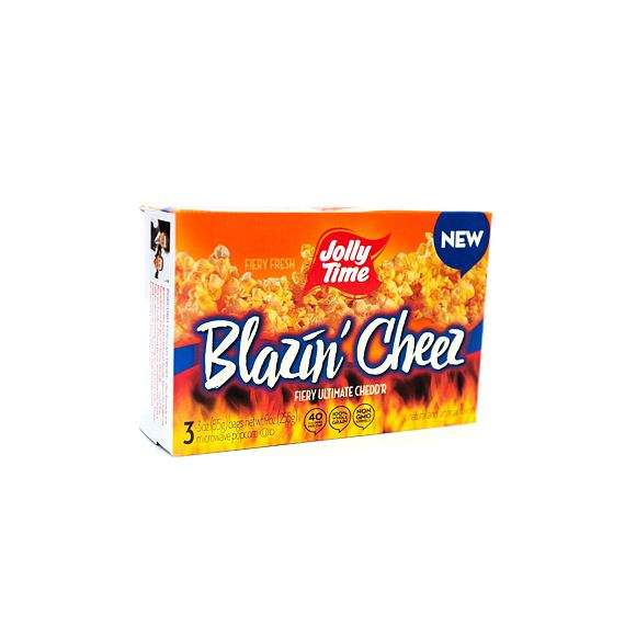 Jolly Time Blazin' Cheez 3pack 255 g