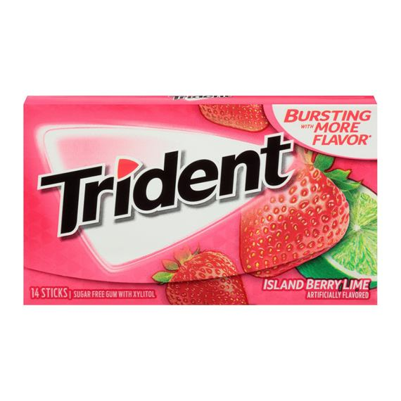 Trident Island Berry Lime 14 ks 27 g