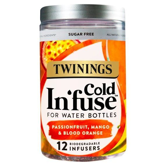 Twinings Cold Infuse Passionfruit, Mango & Blood Orange 12 ks 30 g