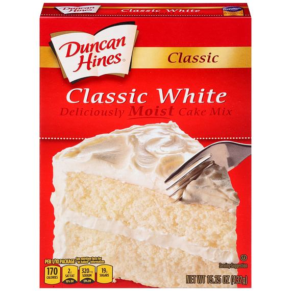 Duncan Hines Classic White Cake Mix 432 g