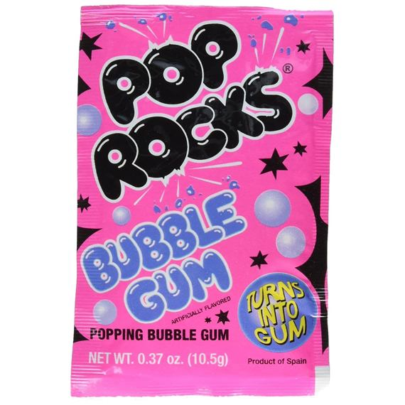 Pop Rocks Bubble Gum 10.5 g