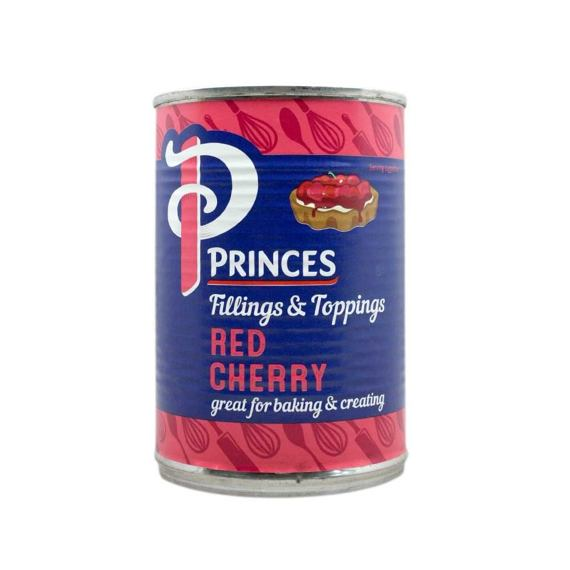 Princes Fruit Filling Red Cherry 410 g - balení 6ks
