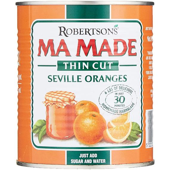 Robertson's Ma Made Thin Cut Seville Oranges 850 g