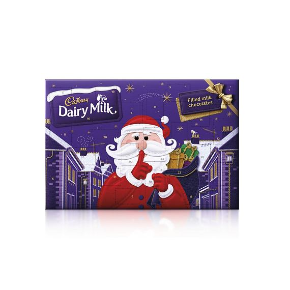 Cadbury Secret Santa Advent Calendar 200 g