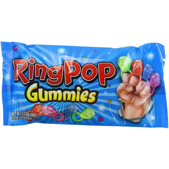 Ring Pop Gummy Rings 48 g