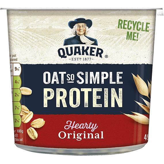 Quaker Oat So Simple Protein Hearty Original 49 g