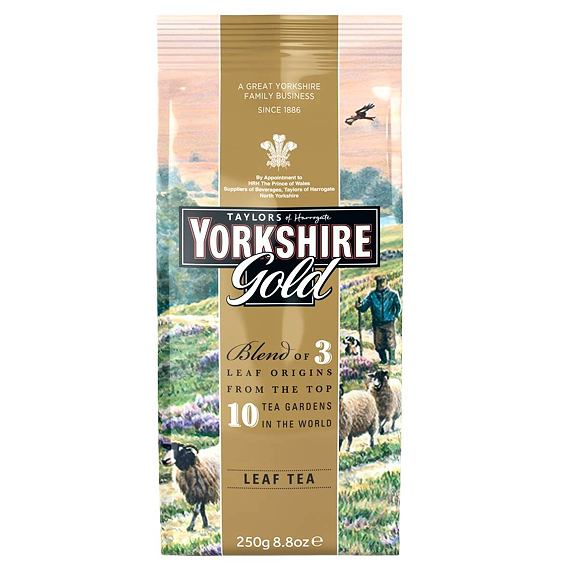 Yorkshire Gold Leaf Tea 250 g