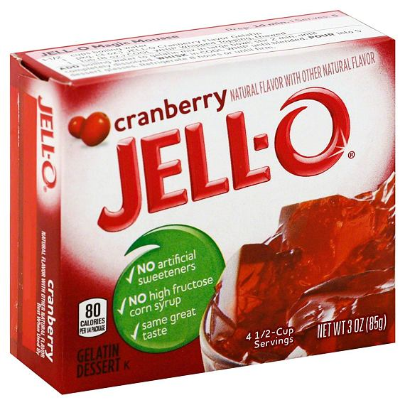 Jell-O Cranberry 85 g