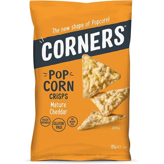 Corners Pop Corn Crisps Mature Cheddar 85 g