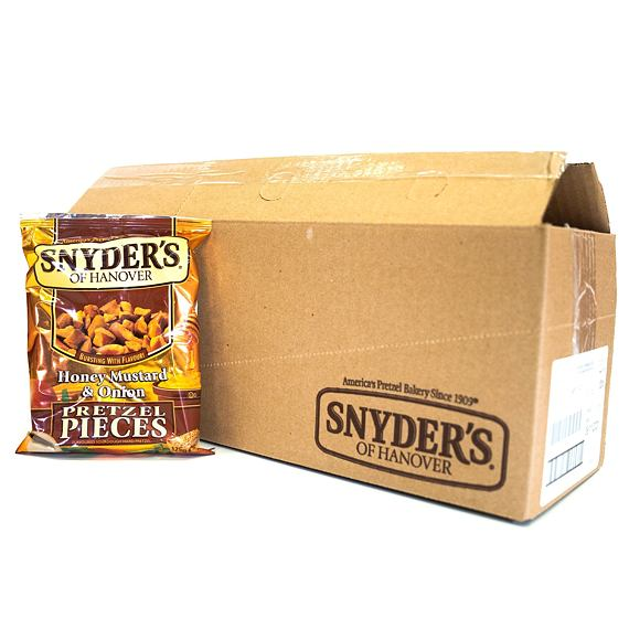 Snyder's Pretzel Pieces Honey Mustard & Onion 125 g Celé Balení 10 ks