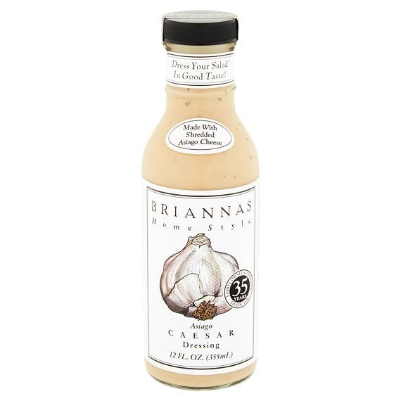 Briannas Asiago Caesar Dressing 355 ml