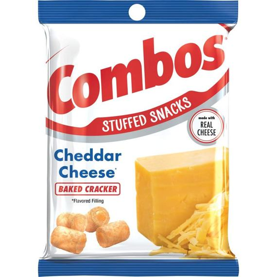 Combos Cheddar Cheese Baked Cracker 178.6 g