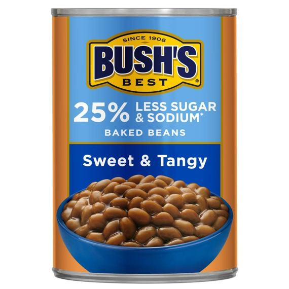 Bush's Best Baked Beans Sweet & Tangy 445 g