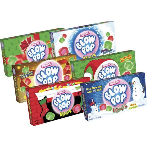 Charms Blow Pop Minis Christmas 85 g